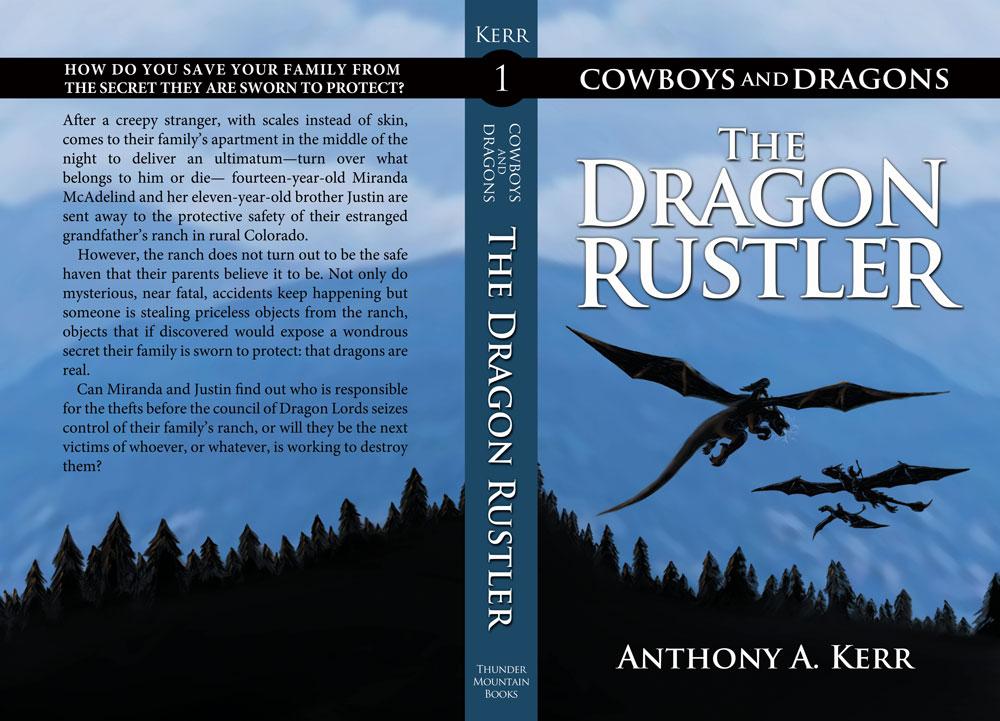 The Dragon Rustler book cover