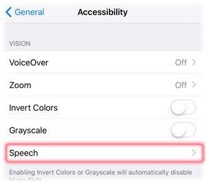 Select Speech